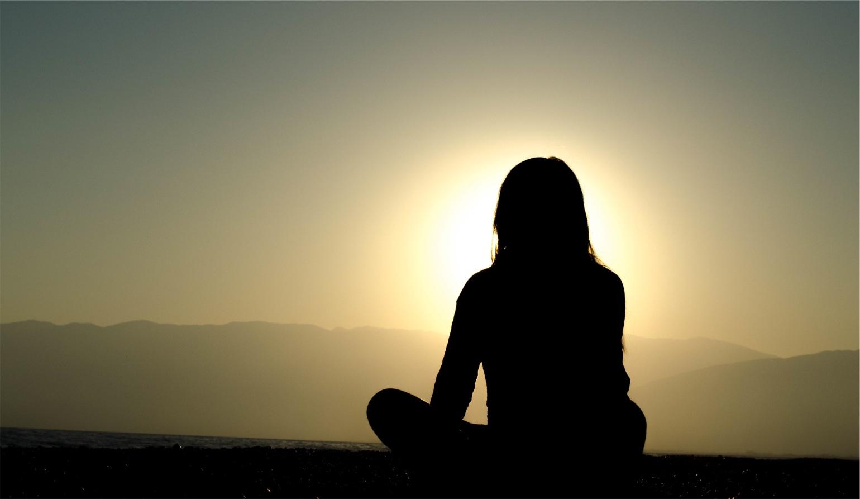 meditative-woman