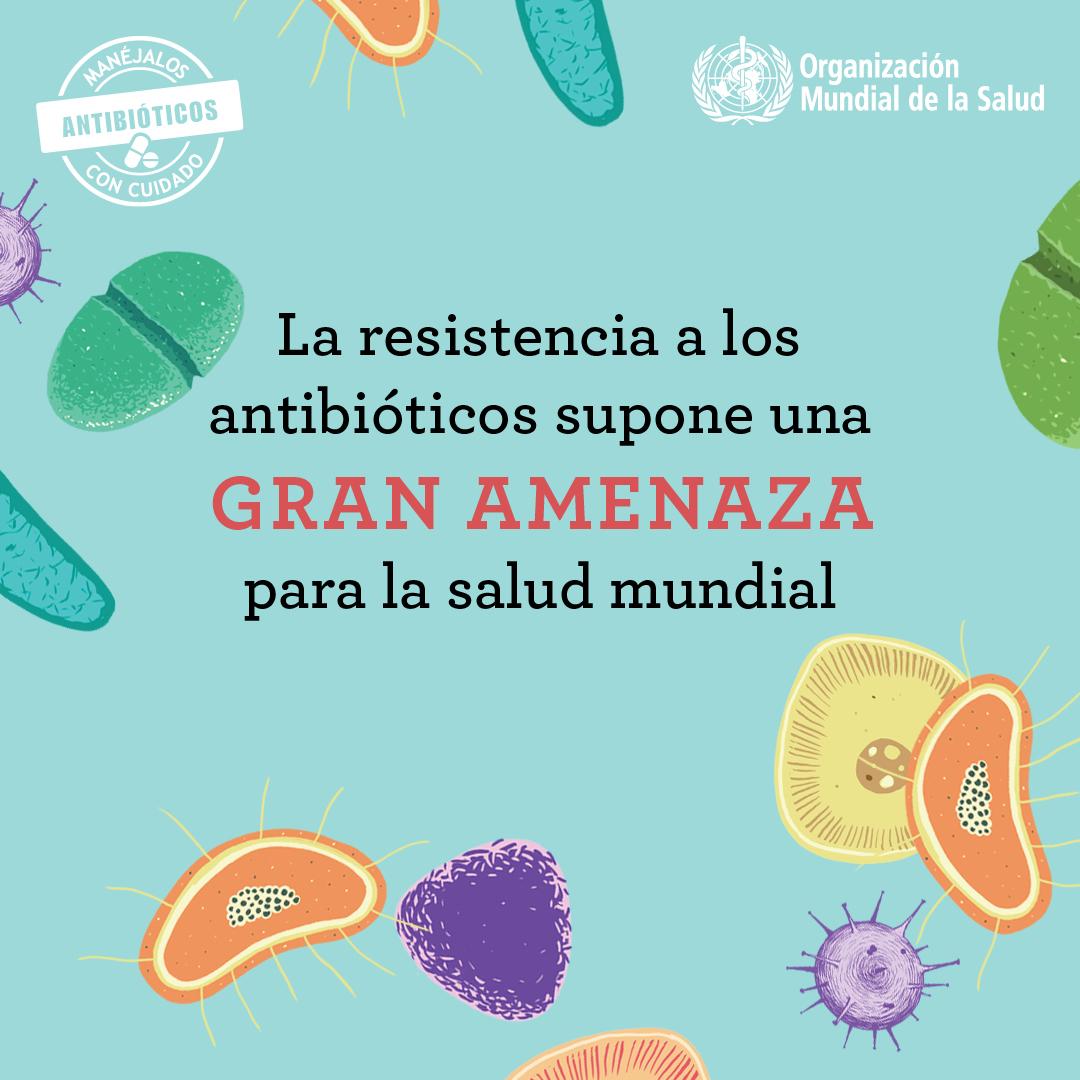 Resultado de imagen de ods salud antibioticos